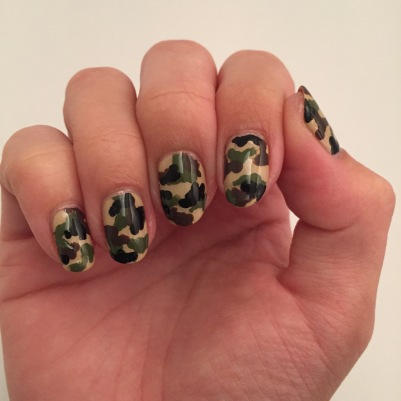 Right hand - full camouflage