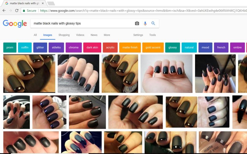 11-24-17 matte-black-glossy-tips