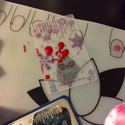 Why I need lotus mats everywhere: spilled polish