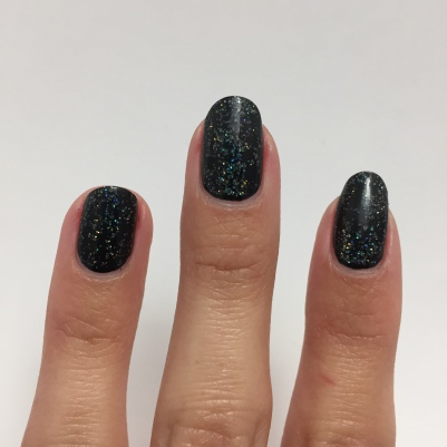 Back to the black and holo...