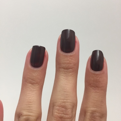 Two coats of OPI-That's What Friends are Thor