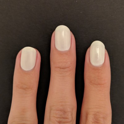 Two Coats of KL Polish - Coconut Milk