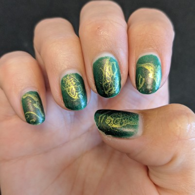 Almost perfect, except for the thumbs