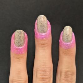 Liquid latex all around my nails