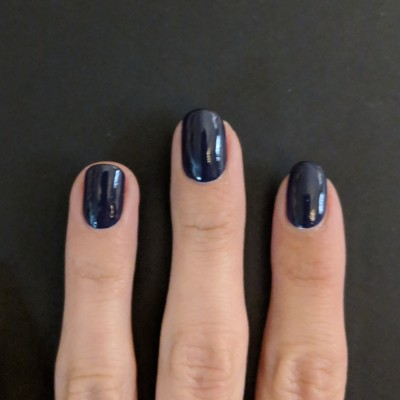 Two coats of Essie - No More Film