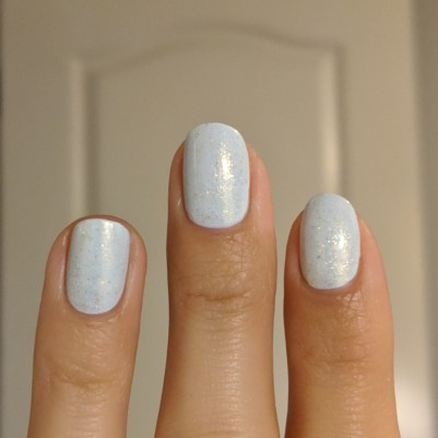 The Envy Lacquer-Always Incomplete glitter topper