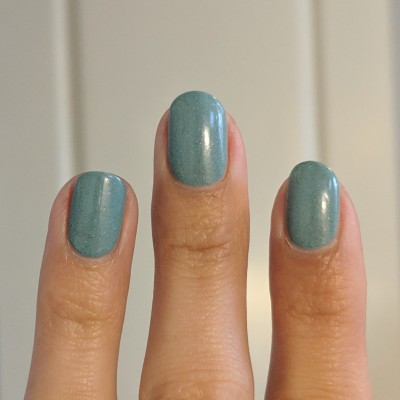 Two coats of Envy Lacquer - Look Alive