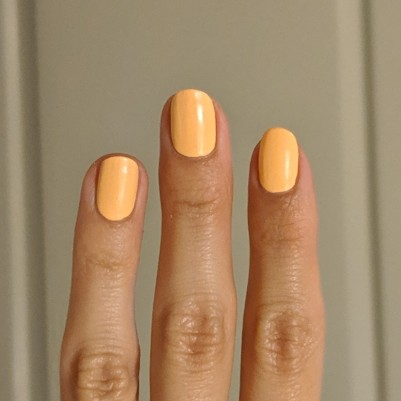 One coat of Esmaltes da Kelly -Felinda